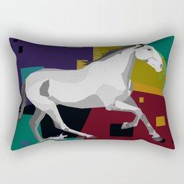 pixel horse Rectangular Pillow