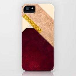 Modern Mountain No3-P1 iPhone Case