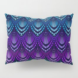 Variations on a Feather I - Deco Style Pillow Sham