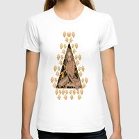 rose gold T-shirts featuring Rose Gold by Shannice Wollcock
