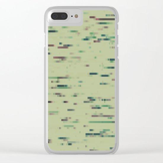 Pixelmania XI (color version) Clear iPhone Case