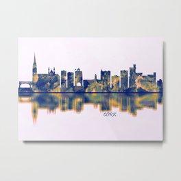 Cork Skyline Metal Print
