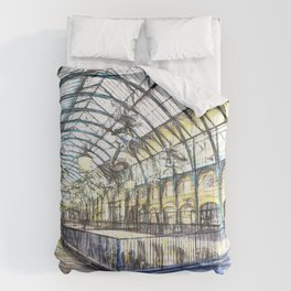 Covent Garden Sketch Comforters