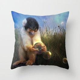 Curio Throw Pillow