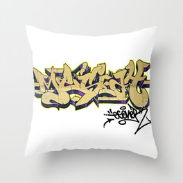 MESIAH OLD SCHOOL URBAN GRAFFITI STREET STYLE Throw Pillow