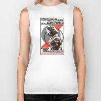 propaganda Biker Tanks featuring Propaganda by Shop 5