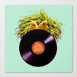 Summer Sound System Canvas Print