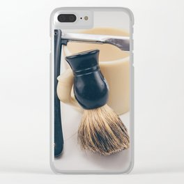 Barber Clear iPhone Case