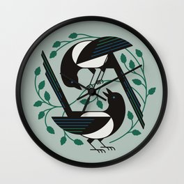 The Joy of Spring Wall Clock
