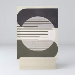 Abstract Geometric Art 50 Mini Art Print