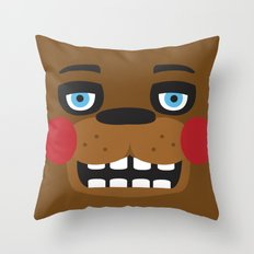 Freddy, FNAF Throw Pillow