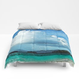 Caribbean Cumulonimbus Clouds Comforters