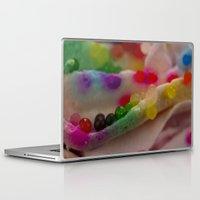 sprinkles Laptop & iPad Skins featuring Sprinkles by PinkRadish