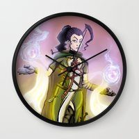 dark souls Wall Clocks featuring Souls. by Peter Forsman