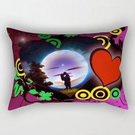 Love forever. Rectangular Pillow