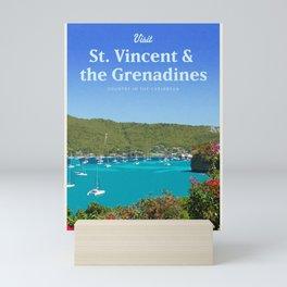 Visit St.Vincent & the Grenadines Mini Art Print