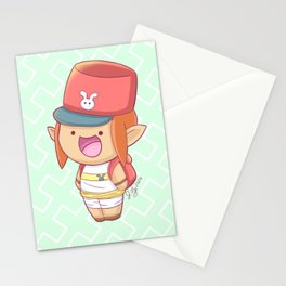 Zelda Postman Chibi Stationery Cards