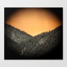 Austrian Sunset Canvas Print