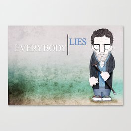 Dr. House Canvas Print