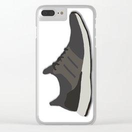 Ultraboost Three Stripes Sneaker Clear iPhone Case
