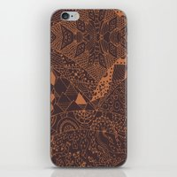 africa iPhone & iPod Skins featuring Africa by Akwaflorell