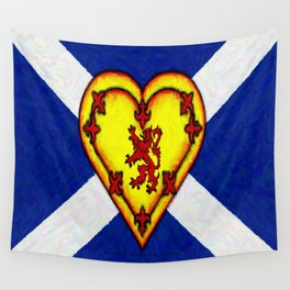 FOR THE LOVE OF SCOTLAND   - 003 Wall Tapestry