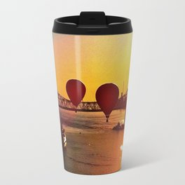 The Great Mississippi River Balloon Race Travel Mug