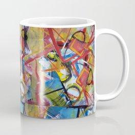 Boundary Line Red Coffee Mug
