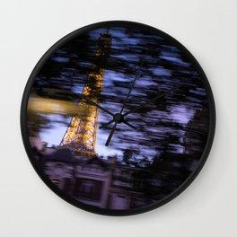 Paris. Wall Clock