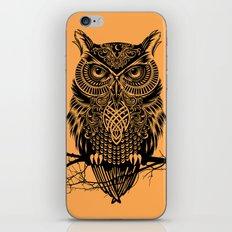 Warrior Owl 2 iPhone Skin