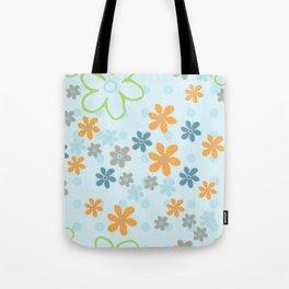 Handbag Heaven Blues - detail Tote Bag