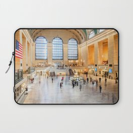 Shadows of Grand Central Laptop Sleeve