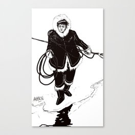 Inuit Canvas Print