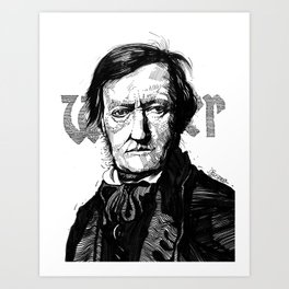 Wagner Art Print