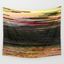 LOST SUMMER - Glitch Art Iphone Case Wall Tapestry