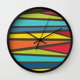 Colorful Way Wall Clock