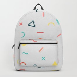 COLORFUL MEMPHIS PATTERN Backpack