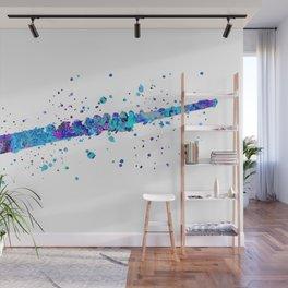 Watercolor Flute Wall Mural