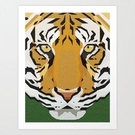 TIGER TIGRE Art Print