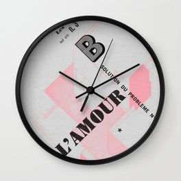 House of Love Wall Clock