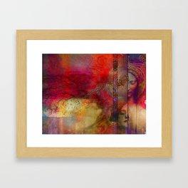 Past Present Future Framed Art Print