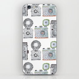 Camera Pattern iPhone Skin