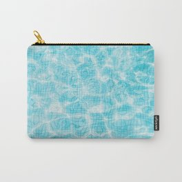 Blue mosaic swimming pool Carry-All Pouch