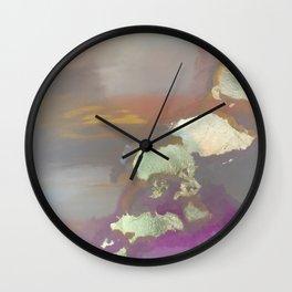 Looking East Wall Clock