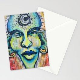 Moon God Stationery Cards