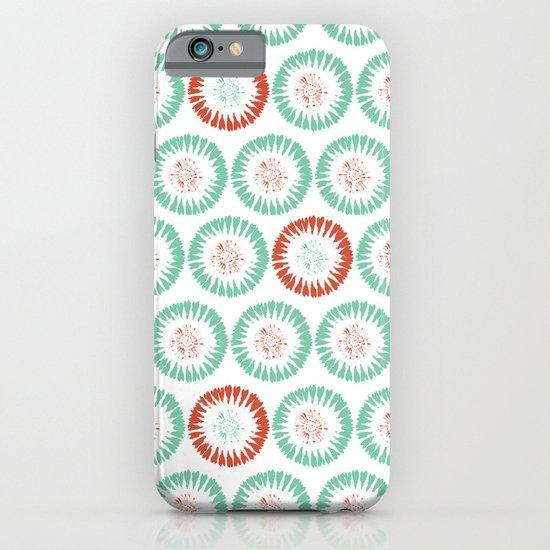 Block Print Circles iPhone & iPod Case