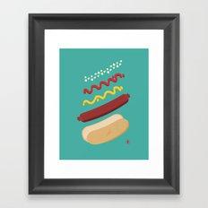 HUT DUG Framed Art Print
