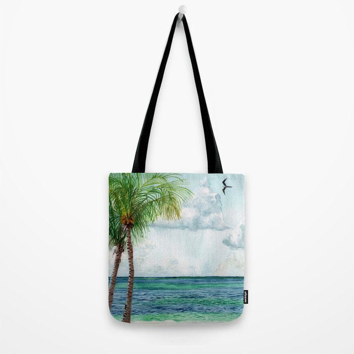 Peaceful Mexico Beach Tote Bag