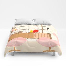 Inside mid century modern 302 Comforters