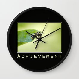 Inspiring Achievement Wall Clock